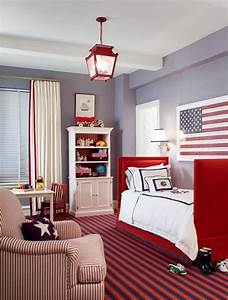 Red, White, And, Blue, Toddler, Rooms