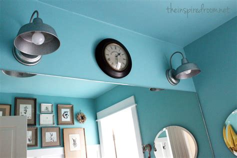 light turquoise bathroom bathroom makeover before and after