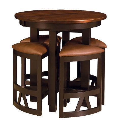 Details about Amish Pub Table Chairs Set Bar Height High