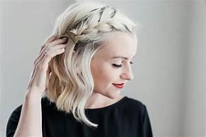 Tresse Cheveux Courts : 1001 id es de coiffure avec une tresse coll e les tapes pour la r alisation ~ Melissatoandfro.com Idées de Décoration