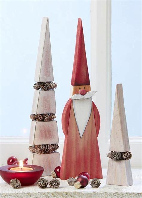 weihnachtsmann kostüm selber nähen die besten 25 weihnachtsdeko aus holz ideen auf