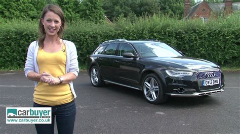 audi  allroad quattro estate review carbuyer youtube