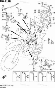 Suzuki Motorcycle 2019 Oem Parts Diagram For Electrical