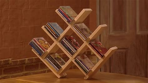 wooden cd rack youtube