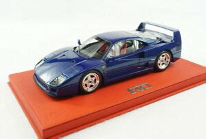 Find ferrari f 40 from a vast selection of slot cars. Special Order Bbr 1/18 Ferrari F40 Blue Tour De France Specifications With Case | eBay