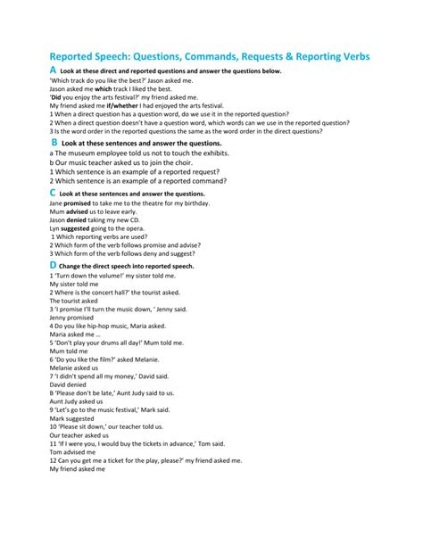 command and request sentence worksheets the best and