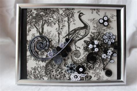 Black And White Paper Quilling