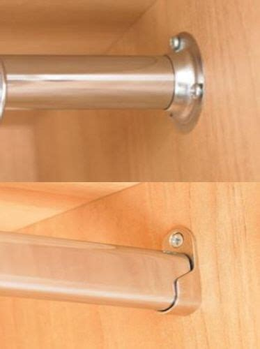 wardrobe rail  long choice  oval tube mm