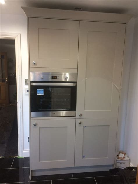 built  fridge freezer  oven housing unit built
