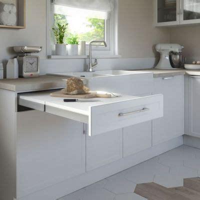 coulisse tiroir cuisine kit tiroir plan de travail topflex castorama