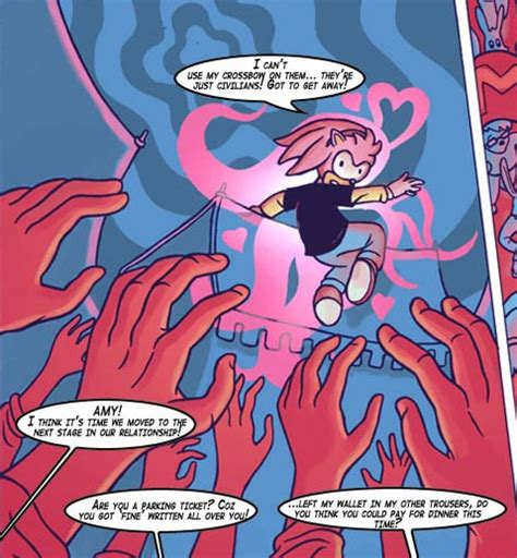 Chasing Amy Sonic The Comic Wiki Fandom Powered By Wikia