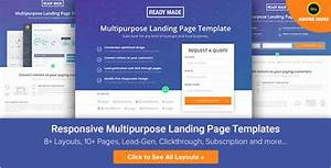 wordpress squeeze page template - 20 university landing page templates free premium