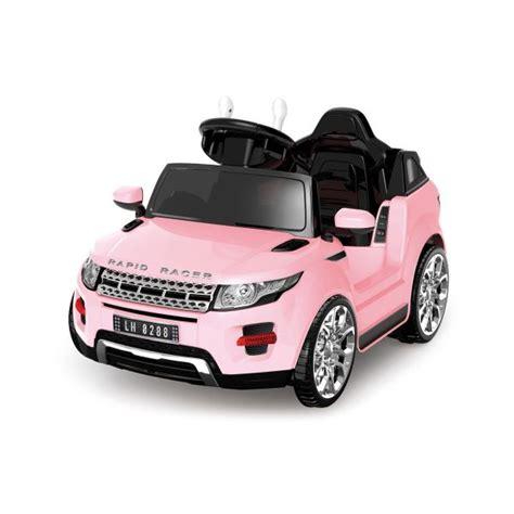 mini evoque rose  voiture electrique pour enfants