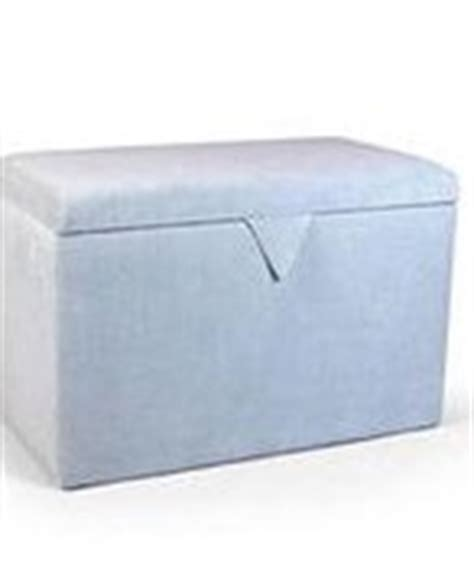 Duck Egg Blue Ottoman by Blanket Boxes Ottomans And Storage Chests