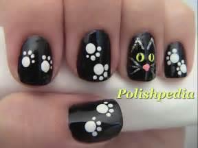 cat nails black cat nail for polishpedia nail