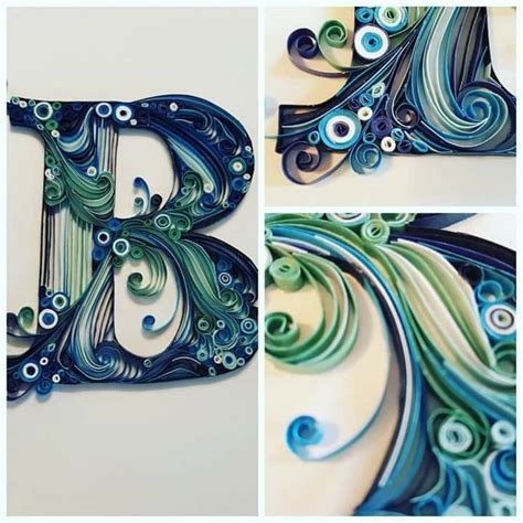 quilling letters pins paper letters paper