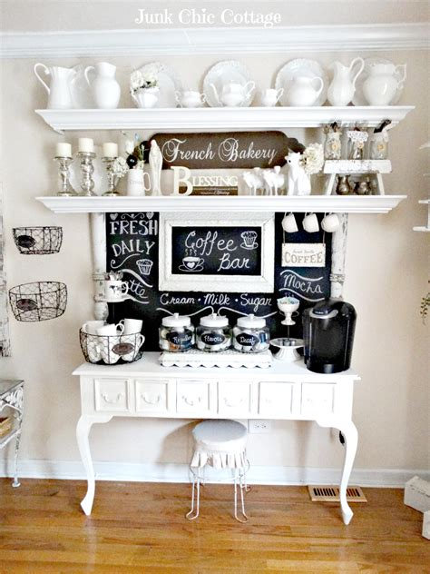 white kitchen island on wheels 30 charming diy coffee station ideas for all coffee