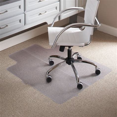 es robbins everlife lipped foldable chair mat for flat to