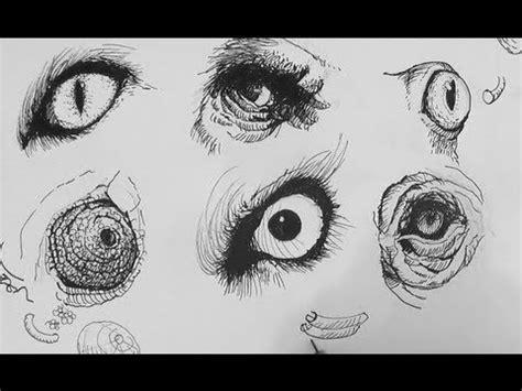 realistic animal eye drawings