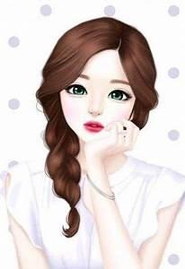 Beautiful Girl Cartoon Wallpaper - impremedia.net