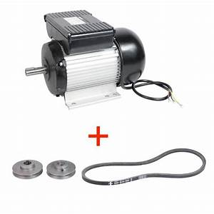 Moteur Electrique Pour Broyeur : moteur lectrique 2cv asynchrone axe 19 mm 2800 trs mn ~ Premium-room.com Idées de Décoration