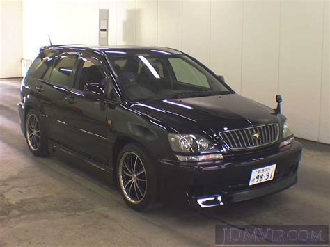 toyota harrier 2001 toyota harrier pictures information and specs
