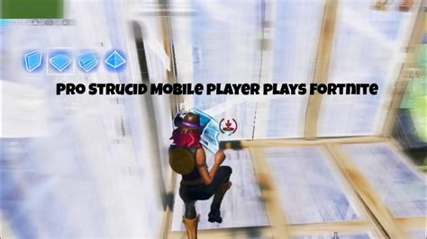 pro strucid mobile player plays fortnite youtube