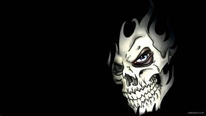 Skull Wallpapers Face 3d Cool Nasty Skulls