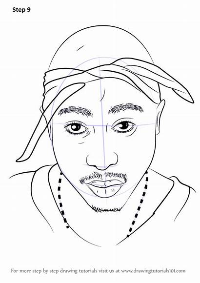 Step 2pac Draw Drawing Rappers Tutorials Tutorial