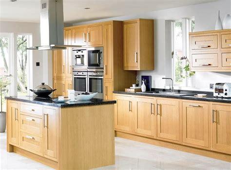 cuisine bois naturel quand la cuisine en bois naturel joue la tendance