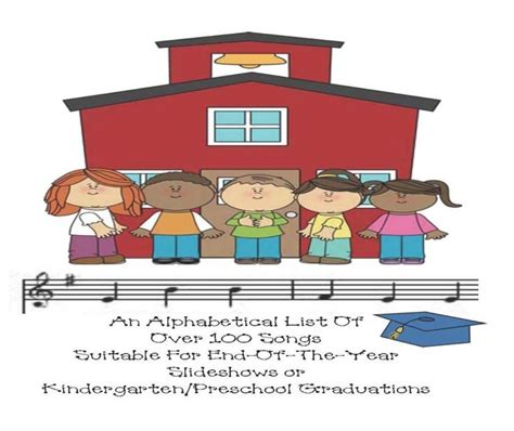 list of 150 songs for slideshows or kindergarten preschool 739 | 73d174d4fc95bf267658b3d789f85aa3