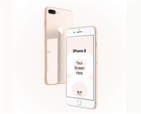 Iphone Mockup Psd Free Iphone 8 Mockup Psd