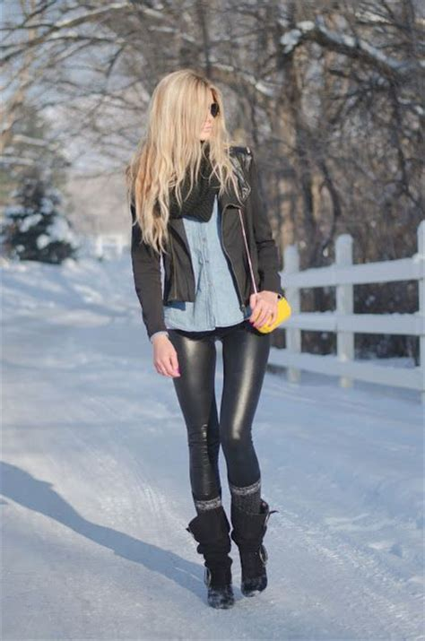 Barefoot Winter Outfits Leggings Pinterest