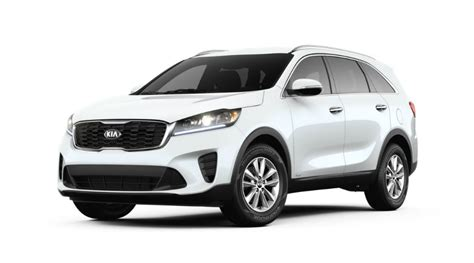 Kia Sorento 2019 White by What Colors Does The 2019 Kia Sorento Come In