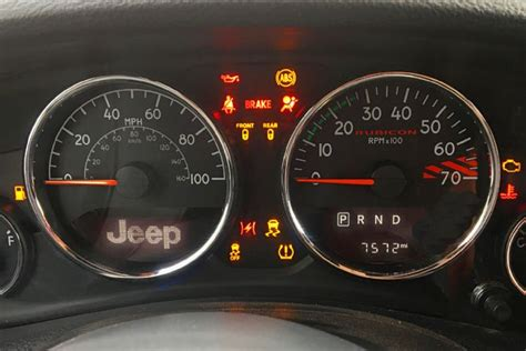 Those Warning Lights Say A Lot About Your Jeep Jk Forum