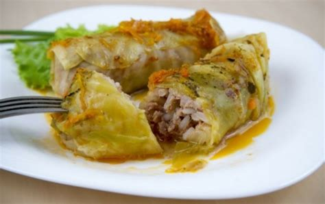 cabbage rolls in oven oven baked stuffed cabbage leaves icookgreek