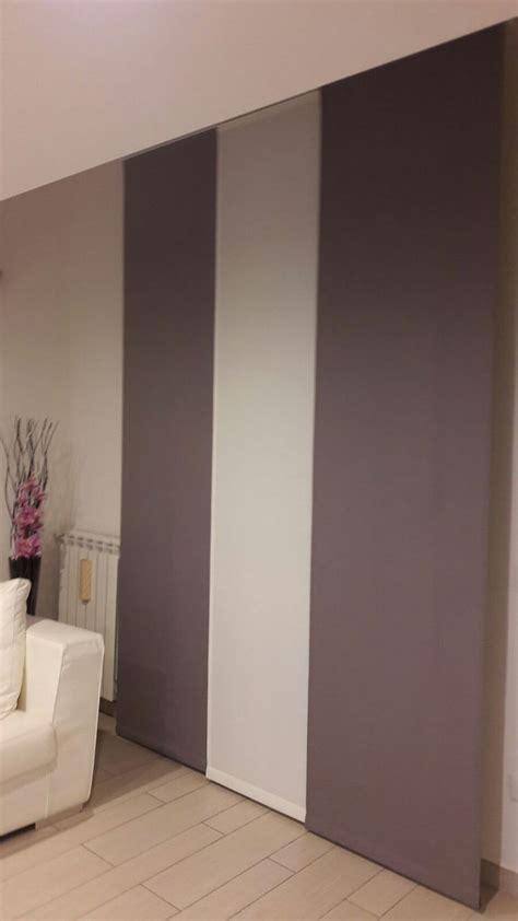 tende a pannello design tende a pannello per sala in tessuto coprente con colori a