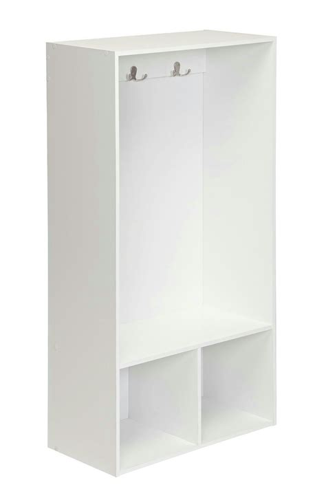 closetmaid 2 cube storage locker white cabinets drawers - Closetmaid 2 Cube Storage Locker