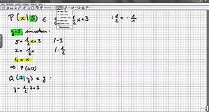 Fehlende Koordinaten Berechnen Vektoren : fehlende koordinaten eines punktes auf einer gerade bestimmen youtube ~ Themetempest.com Abrechnung