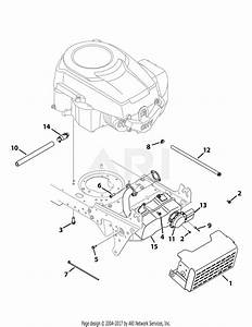 Mtd 13bx775h031  2009  Parts Diagram For Engine