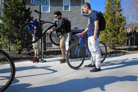 Bike Repair Stations Added To The 606  Chicago Tribune