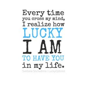 Lucky Having You Quotes
