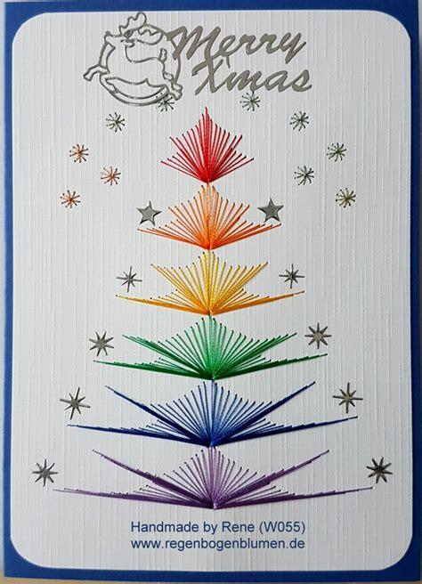 fadengrafik vorlagen weihnachten weihnachten fadengrafik gru 223 karten set w55 weihnachten rainbow ein designerst 252 ck