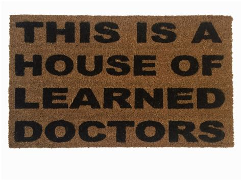 Are You A Doormat by House Of Learned Doctors Stepbrothers Door Mat