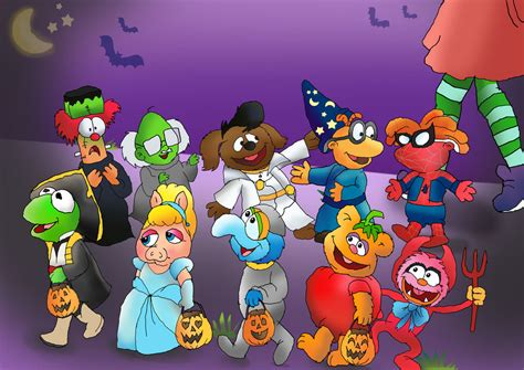 Muppet babies Trick-or-treating by raggyrabbit94 on DeviantArt