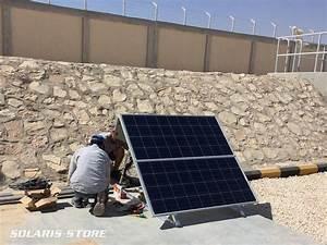 Installation Panneau Solaire : kit solaire autonome 1000w version powerpack 495a 24v ~ Dode.kayakingforconservation.com Idées de Décoration