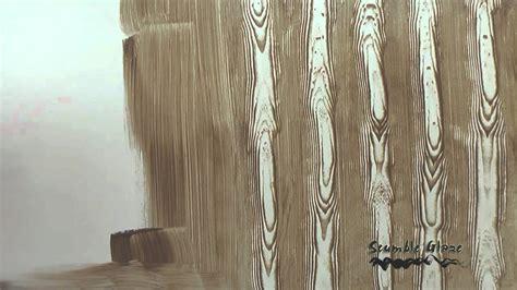 vesalux acrylic scumble glaze faux wood grain youtube