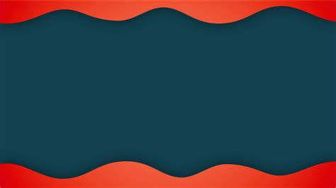 Background For Abstract Flat Wave Animation Background For Titles