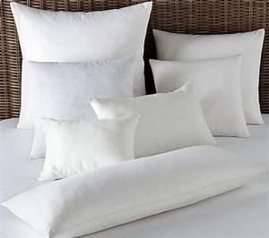 pillowsusa square euro feather down pillow inserts forms With european pillow forms