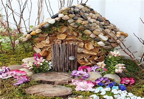 how to make a house for the garden mouths of mums